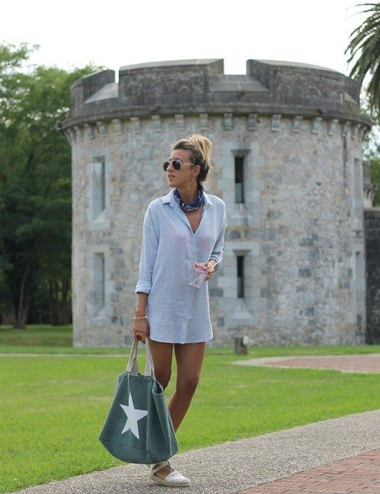 Look&chic- camisa blue